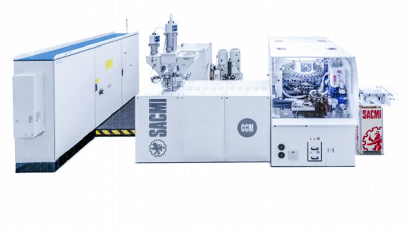 CCM - Continuous Compression Moulding Machine
