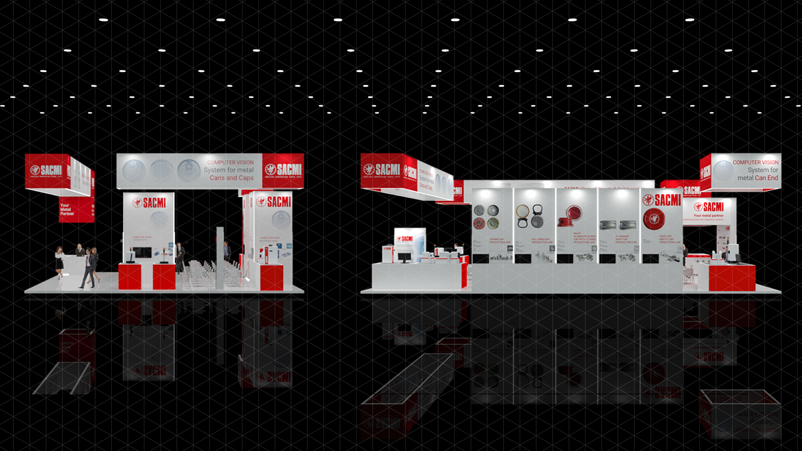 tour virtual stand SACMI Metpack 2020