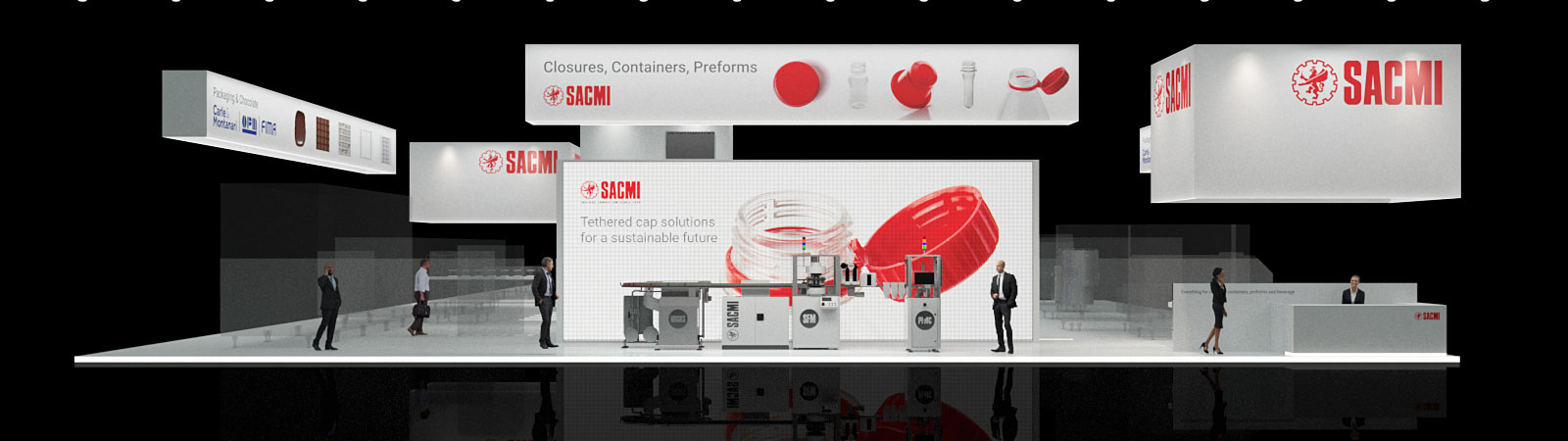 Tethered r-evolution: the SACMI virtual booth at Interpack 2020