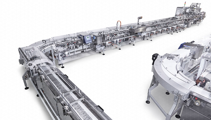 Automatic packaging distributor