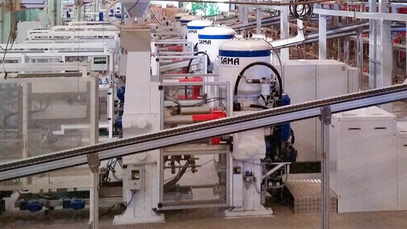 Machines for the production and processing of ceramics | SACMI