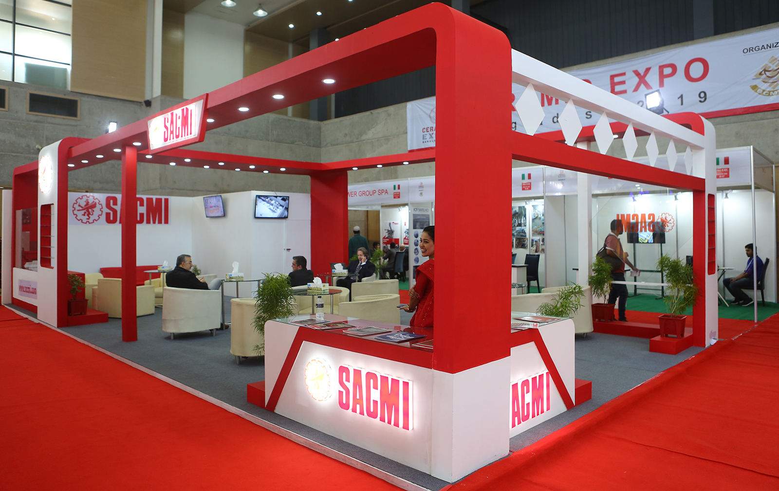 Ceramic Expo Bangladesh doubles its capacity, with SACMI playing a leading role