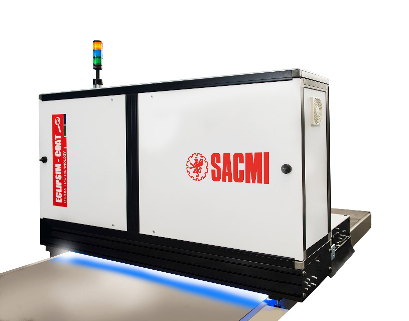 SACMI presents ECLIPSIM COAT, a new inspection system for painted metal sheets