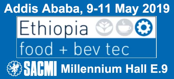 SACMI to exhibit at Ethiopia Food Bev Tec 2019, save the date!