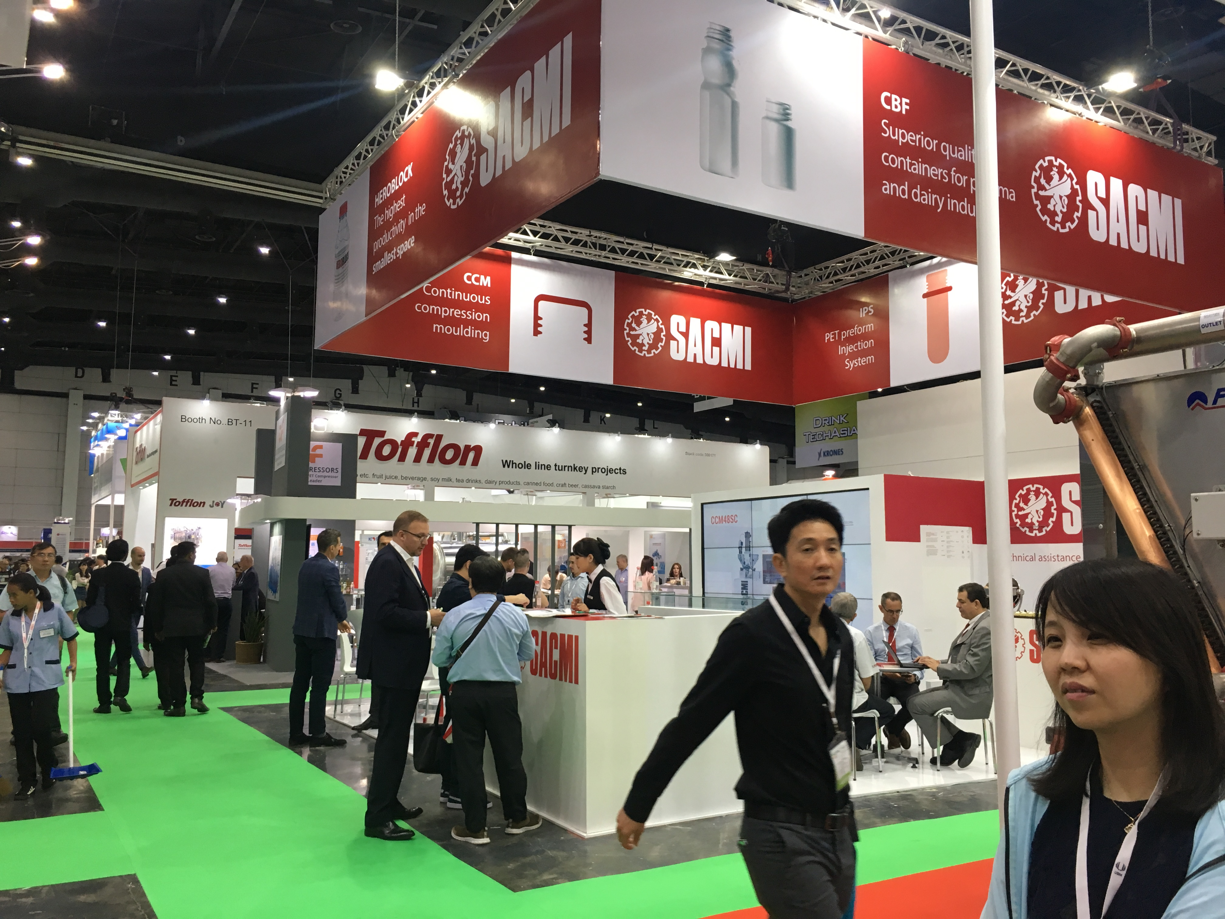 Propak Asia 2019, five good reasons to visit the SACMI stand